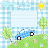 Car background — Stock Vector
