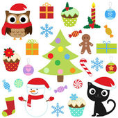 Set de navidad — Vector de stock