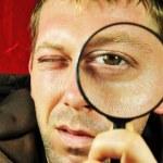 Man searching — Stock Photo #6749705