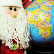 Christmas around the globe — Stock Photo