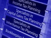 Tax advice — Stock Photo