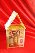 Euro dom — Zdjęcie stockowe