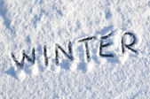 зима — Стоковое фото