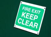 Požární schodiště — Stock fotografie