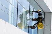 Limpador de janelas — Fotografia Stock