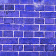 Blue wall — Stock Photo