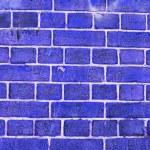 Blue wall — Stock Photo