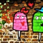 Love graffiti — Stock Photo