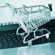 Stock Photo: Shopping online