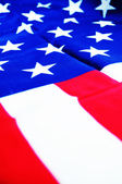 Abstract American flag — Stock Photo
