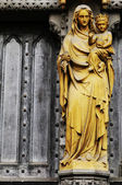 Westminster Abbey in London, UK — Stock Photo