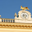 Schonbrunn palace architectural detail — Stock Photo