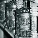 Buddhist prayer wheels — Stock Photo #6904371