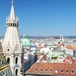 Vienna panorama — Stock Photo