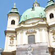 St. Peter's Church (Peterskirche) in Vienna — Stock Photo