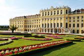 Vienna - beautiful architecture and gardens — Stock Photo