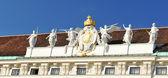 Hofburg palast (wien, österreich) architektonische detail — Stockfoto