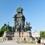 Vienna historical center — Stock Photo