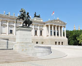 Austrian Parliament, Vienna — Stock Photo