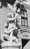 Wien, österreich - architektonischen details — Stockfoto