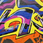 Abstract graffiti wall — Stock Photo #7054779