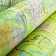 Stock Photo: Abstract maps