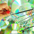 Music shopping — Stock Photo #7055123