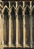 Gothic architectural detail — Stock Photo