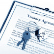 Tenancy agreement - Stock Photo