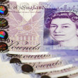 British pounds - Stock Photo