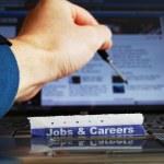 Jobs on-line — Stock Photo