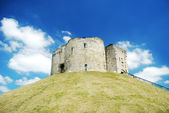 York cliffords tower — Foto Stock