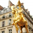 Statue of Joan of Arc in Paris — Stock Photo #7349759