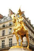 Statue of Joan of Arc in Paris — Stock Photo