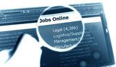 On-line jobs — Stock Photo