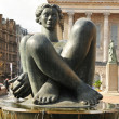 Nude statue — Stock Photo