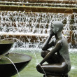 Stock Photo: Fountain in Birmingham, UK