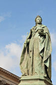 Queen Victoria statue in Birmingham — Stock Photo