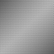 Perforated Metal Pattern — Stock Vector