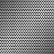 Stock Vector: Perforated Metal Pattern