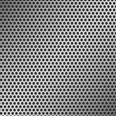 Perforated Metal Pattern — Vettoriale Stock