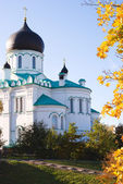 Cathedral of the Archangel Michael, the city of Lomonosov — Foto de Stock