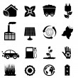 Environment and eco icons — Stock Vector