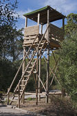 Watch Wooden Tower — Stock Photo