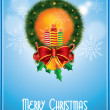 Stock Photo: Vector Christmas Frame