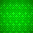 Vector Poker Green Background — ストックベクタ