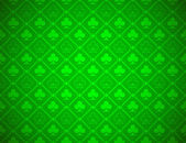Vector Poker Green Background — Stock Vector