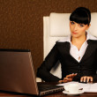 Stock Photo: Female boss