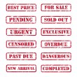Royalty-Free Stock Vector Image: Grunge rubber stamps
