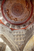 Decorations Dome Inside Sheesh Shish Gumbad Tomb Lodi Gardens Ne — Stock Photo